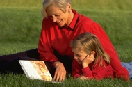One of the great joy's of life - reading to a child
